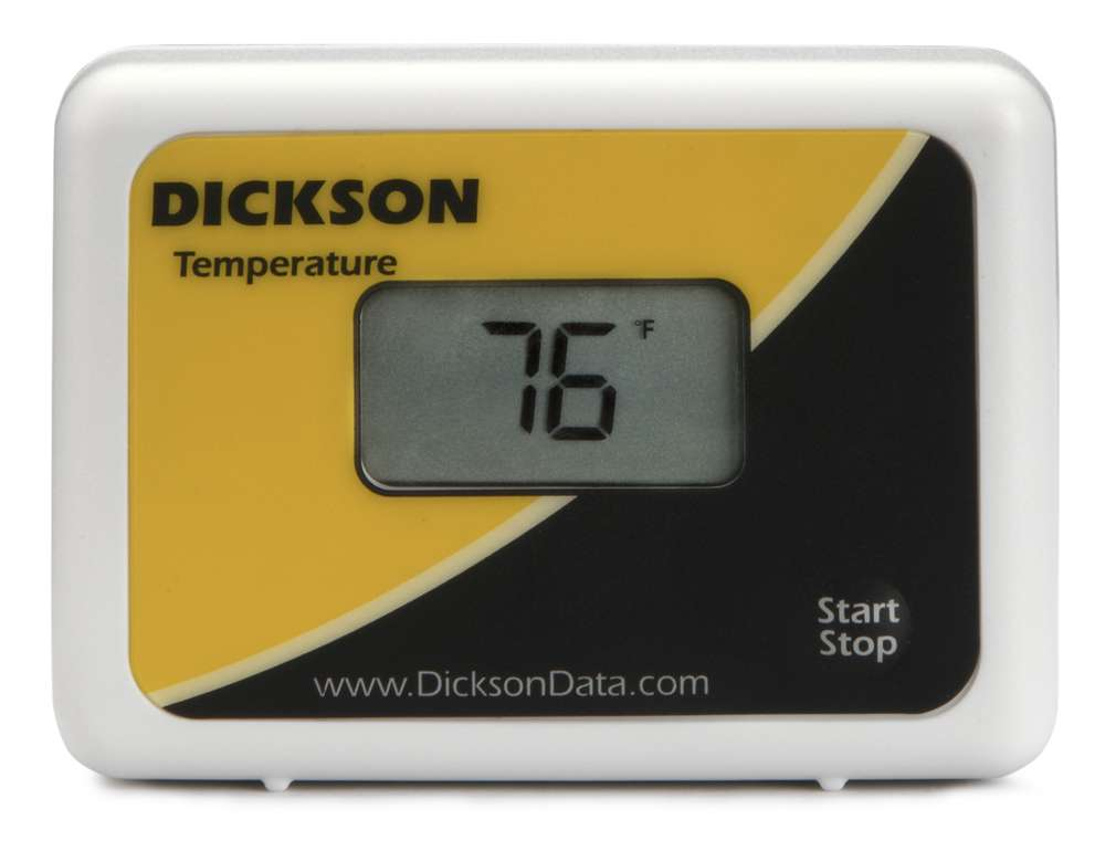 Dickson Sm320 Data Logger : Sp temperature data logger from dickson