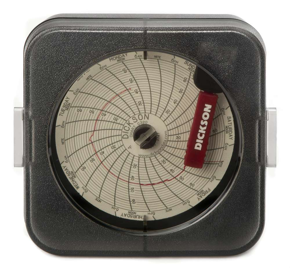 """KT621 6"""" (152mm) Temperature Chart Recorder From Dickson"""