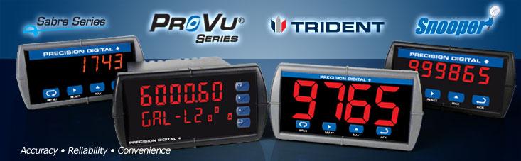 Precision Digital Panel Meters : Precision digital supplier of panel meters