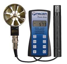 Da430 Rotating Vane Hygro Thermometer Anemometer Pacer